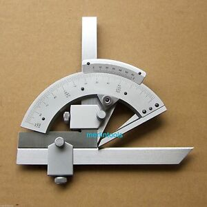 320 Degree Universal Bevel Protractor Angular Dial