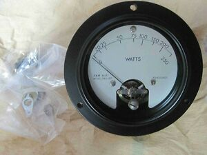 New A M Instruments Watt Meter 0 250w 365 157 6625004915581