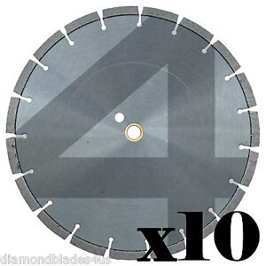 10 14 Diamond Saw Blades 4 Concrete Brick Block Stone Slate Rock Masonry