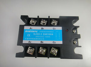 Three Phase 3 Phase Dc Ac Solid State Relay Ssr 100a 100a