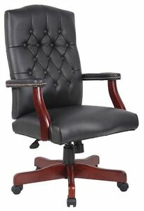 Lot Of 10 Caresoft Vinyl Executive Conference Office Chairs