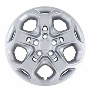 New 2010 2011 2012 Ford Fusion 17 Bolt On Silver Hubcap Wheelcover Replacement