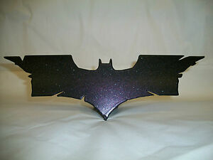 New Limited Edition Night Reflective Trailer Hitch Cover Batman 2 Emblems