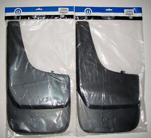 4 Dodge Ram Factory Oem Mud Flaps 1500 2500 3500 1994 2006 2007 2008 2009