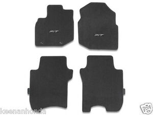 Genuine Oem Honda Fit Black Carpet Floor Mat Set 2009 2013 Mats Tk6