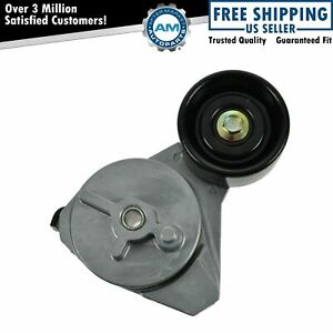 Serpentine Belt Tensioner With Pulley Wheel For Buick Cadillac Olds Pontiac