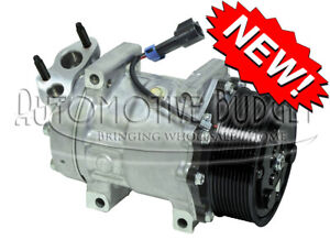 A c Compressor W clutch For Sanden 4347 International navistar New
