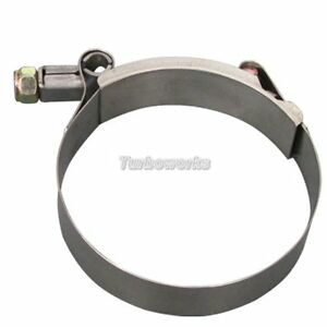 1 X 3 Stainless Steel T bolt Tbolt Clamps clamp For Piping Silicone Hose