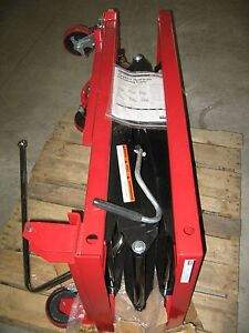 Dayton 4zd01j 1500 Lb Capacity Hydraulic Lift Cart
