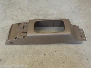 Oem 92 95 Usdm Honda Civic Eg Eg9 Ej1 Brown Tan Center Shifter Console