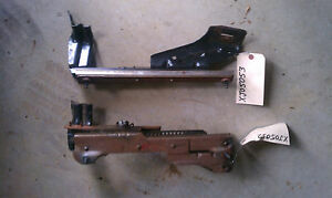 95 01 Jeep Cherokee Right Front Manual Seat Track Slider Frame Riser Passenger