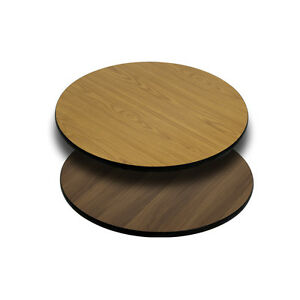 Lot Of 10 Reversible Round 24 Restaurant Tables