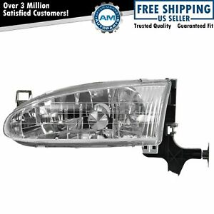 Headlight Headlamp Driver Side Left Lh New For 98 02 Chevy Prizm