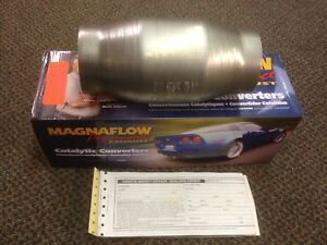 3 Magnaflow Universal 59959 Catalytic Converter High Flow Spun Metallic Cat