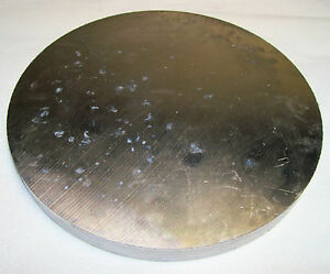 2 Aluminum Discs 1 1 4 Thick X 14 3 4 Dia Mic 6 Cast Tooling Plate Disk