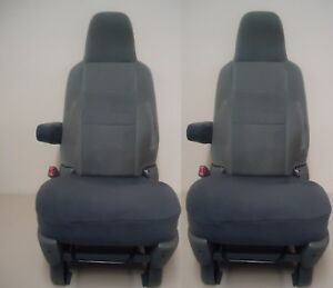 Seat Covers For Bucket Seats Bottoms Only dark Gray price Is For A Pair 2