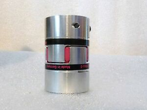 New R w Aluminum Coupling 12mm X 12mm Bore Two Hubs And Spider 2 5 Length
