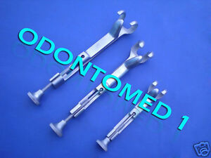 Set Of Assorted Lowman Bone Clamp Surgical Instruments