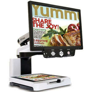 Hims Lifestyle Hd 24 Inch Lcd Color Auto Focus Low Vision Video Magnifier