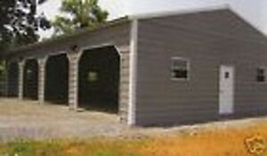 24x50 Metal Garage Storage Building Free Delivery Installation prices Vary