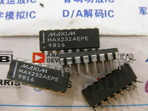 1x Max232aepe 5v powered Multichannel Rs 232 Drivers receivers Max232