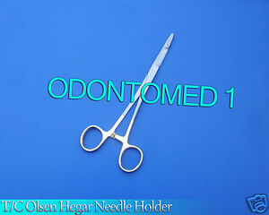 6 T c O r Grade Olsen Hegar Needle Holder 7 5 Surgical W Tungsten Carbide Insr
