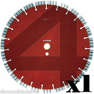 16 Diamond Saw Blade 125 Thick 15mm Segment 4 Reinforced Concrete High Psi