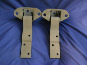 55 57 Chevy 150 210 b a Nomad Convert Door Hinges Passenger Side Pair