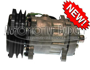 A c Compressor W clutch For Sanden 4489 4611 New