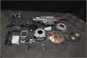 94 95 Mustang T5 Transmission Conversion Kit Hd Rebuilt World Class