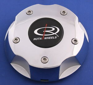 Rota Wheels Plastic Chrome Center Cap Ranger 1788 6 7 8 Wide