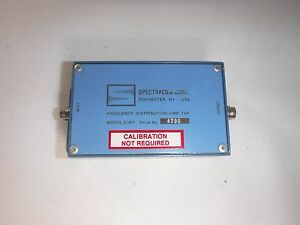 Spectracom Corp 8140t Frequency Distribution Line Tap