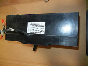 Westinghouse Ehb3040l 40amp 3p 480v Molded Case Circuit With 12v Sunt Trip