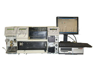 Tsp Spectra Hplc System Uv100 Detector P100 Pump As100 as50 Autosampler N2000