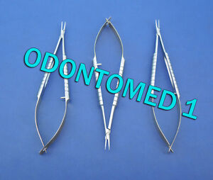 3 Micro Castroviejo Needle Holder 4 5 Cvd Gold Plated Surgical Instrument