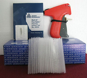 10312 Avery Dennison Fine Fabric Price Tagging Gun 5000 1 Clear Barbs