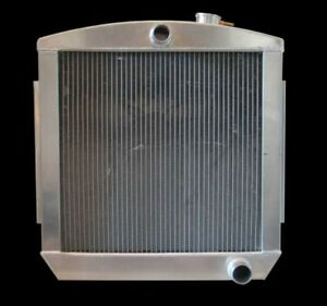 1955 1957 Chevrolet Bel Air Tri 5 Fabricated Aluminum Radiator Usa Made