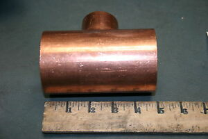 2 5 X 1 25 Copper Tee Coupling