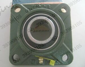 15mm Mounted Bearings Ucf202 4 bolt Square Flange Pillow Block Bearing Housing