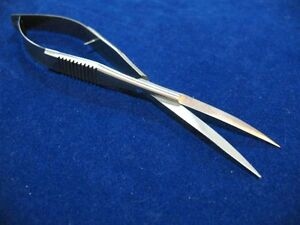 Set Of 3 Castroviejo Micro Minor Surgery Scissors 6 With Extra Long Blades