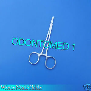 Webster Needle Holder Smooth 5 5 Surgical Veterinary Instruments