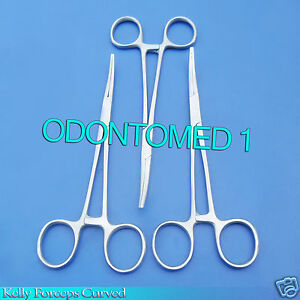 12 Kelly Hemostat Locking Forceps Cvd Tip 5 5