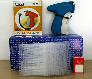 Tagging Gun 5000 3 Clear Barbs 100 Sale Price Tag