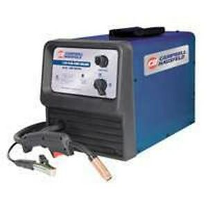 New Campbell Hausfeld Wf2150 Flux Core Wire Feed Welder Kit Sale Price