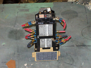 Allen Bradley Ac Relay W Mechanical Latch Unit