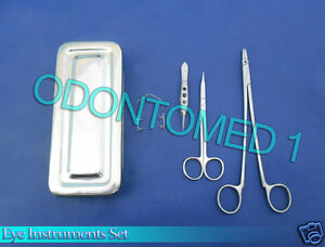 Set Of 5 Pieces Eye Instruments Surgical Opthalmic Instruments