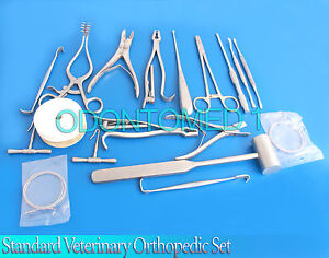 Standard Veterinary Orthopedic Set Surgical Veterinary Instruments vt 001