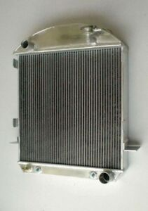 New Ford Model A Aluminum Radiator Chevy Engine 1928 1929 28 29 Width 18 5 Inch