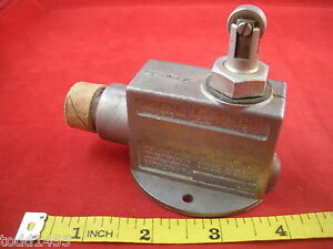 Honeywell Micro Switch Yzv 7rq9tn Roller Lever Arm Limit Switch Nos New