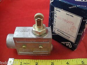 Honeywell Micro Switch Bze 7rq9t2 Roller Lever Arm Limit Switch Bze7 Nos New